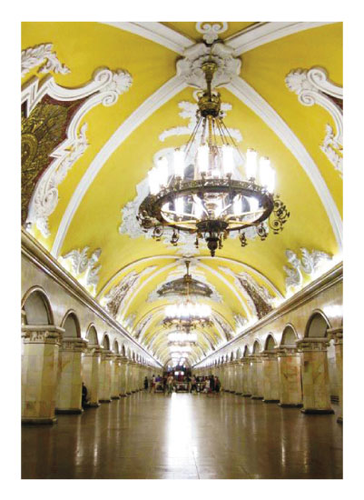 art prints - Moscow Metro by Easter
