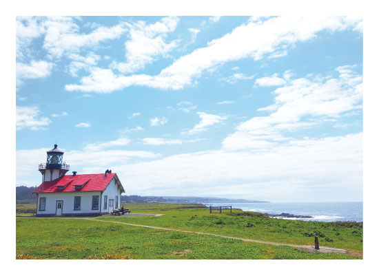art prints - Point Cabrillo Light by Easter