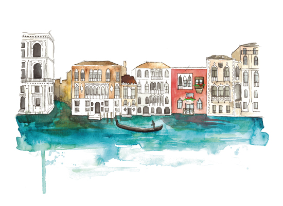 art prints - Through The Canals by Kelsey McNatt