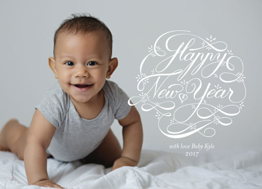 new year's cards - HNY Flow by andrea espinosa