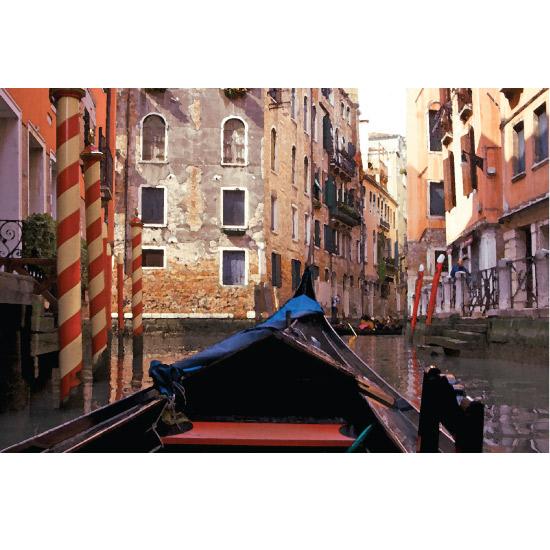 art prints - Gondola by christina tarzia