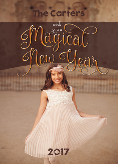 new year's cards - Wishing for the Magic by Anusha