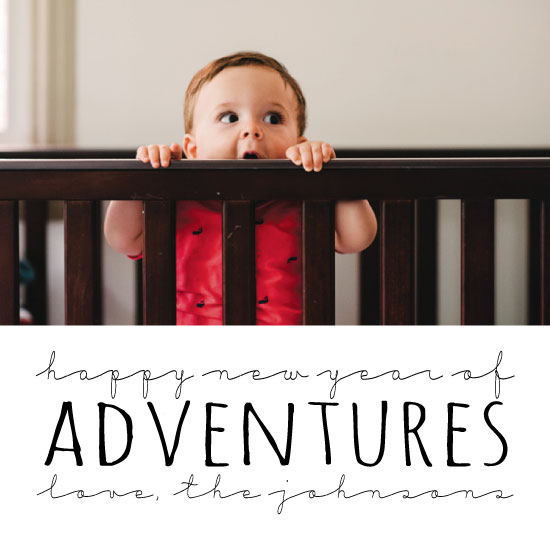 new year's cards - Happy Adventures by Erica Sorg