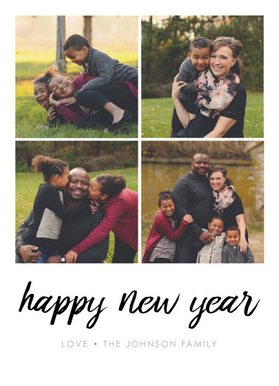 new year's cards - Family of Five in Fall by Erica Sorg