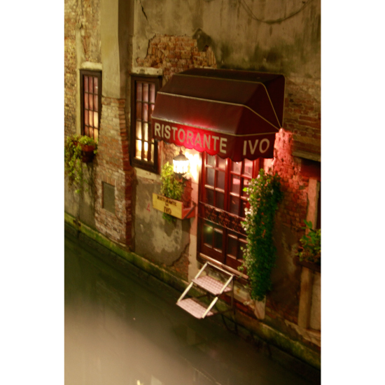 art prints - Cafe on the Channel by christina tarzia