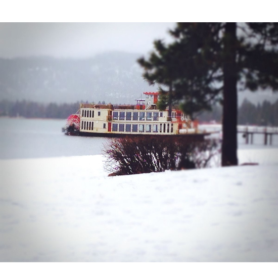 art prints - Winter Ferry by christina tarzia