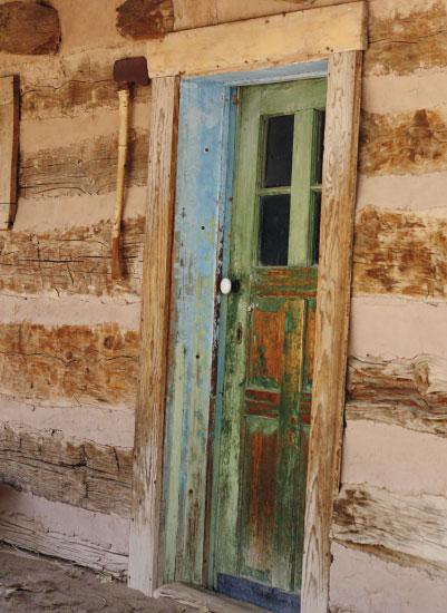art prints - Green Door by Kayla Penner