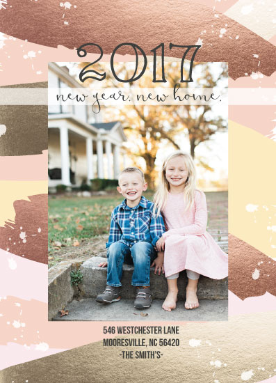 new year's cards - New Year New Home by Ilidia Nicholas