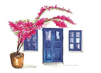 Doors of Oia