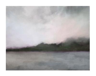 art prints - Winter Lake by Alison Jerry Designs