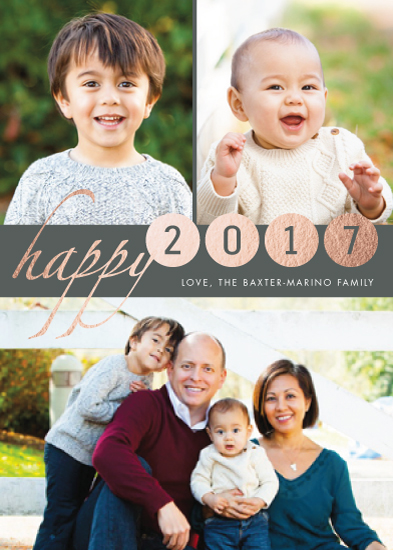 new year's cards - Spot On New Year by PrintHappy Designs