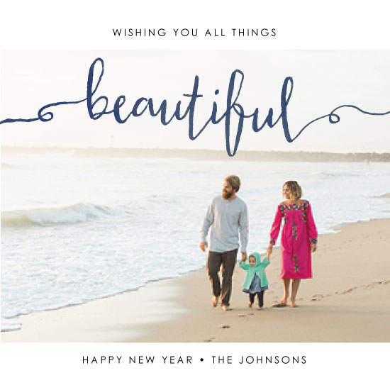 new year's cards - All Things Beautiful by Erica Sorg