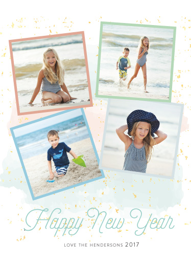 new year's cards - Collage of Summer Memories by Benita Crandall