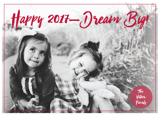 new year's cards - Dream Big by Ellen Gordon