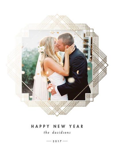 new year's cards - dashing by Carolyn Nicks