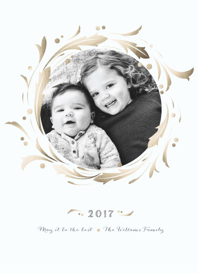 new year's cards - To a Golden Year by Franklin OToole