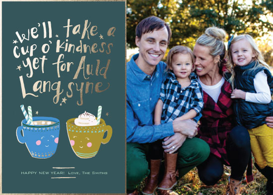 new year's cards - Cup of Kindness by Linnea Taylor