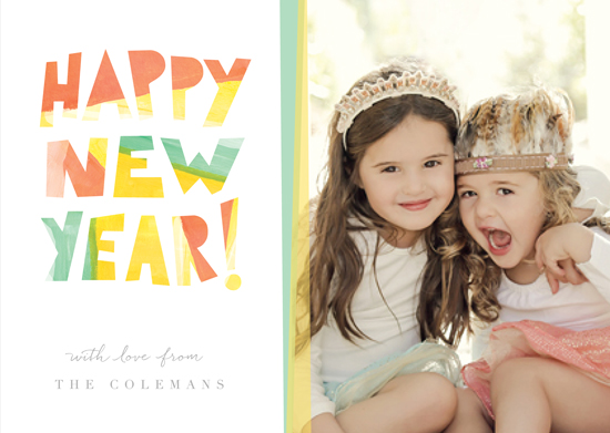 new year's cards - Paint it Bright by Susie Allen