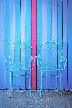 Blue Chairs, Captiva Island