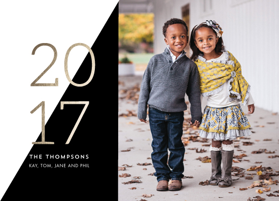 new year's cards - Color Block 2017 by Erika Firm