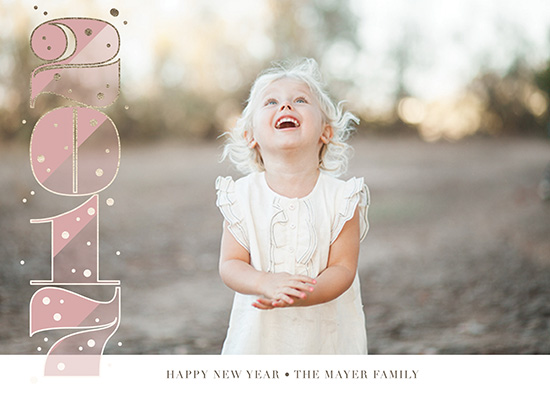 new year's cards - Vertical Stack by Holly Whitcomb