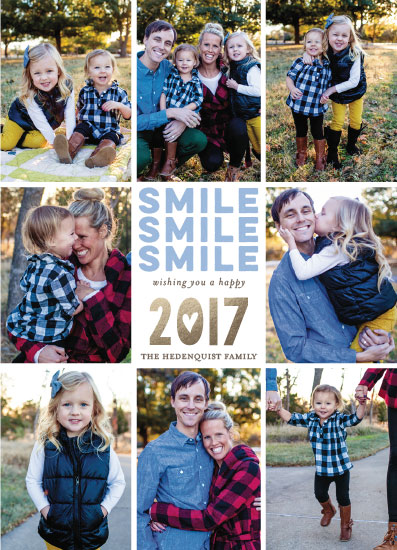 new year's cards - Smile Smile Smile by Debb W