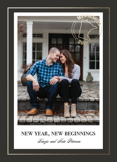 new year's cards - New Year, New Beginnings by Lakeside Handmade