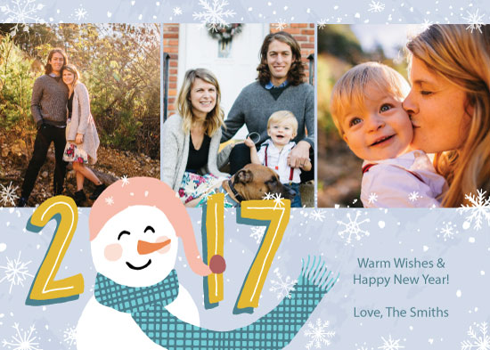 new year's cards - Winter Wish by Linnea Taylor