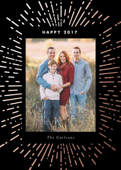 new year's cards - Brightest New Year by Sandra Picco Design