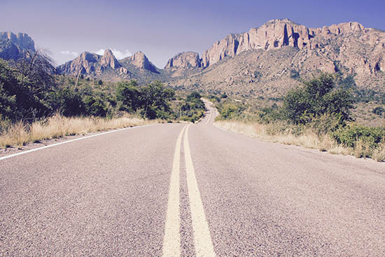 art prints - The Road to Big Bend by LindseyErin