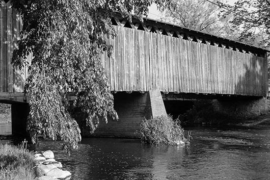 art prints - Last Wooden Bridge by Kryssa Luckow