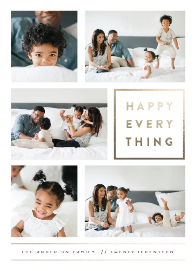 new year's cards - Every Happy Thing by Michelle Poe