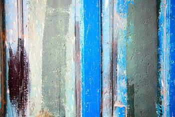 Stripes, Blue Door