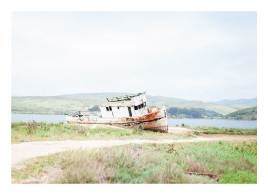 art prints - Shipwreck in Point Reyes by tina ly johnston
