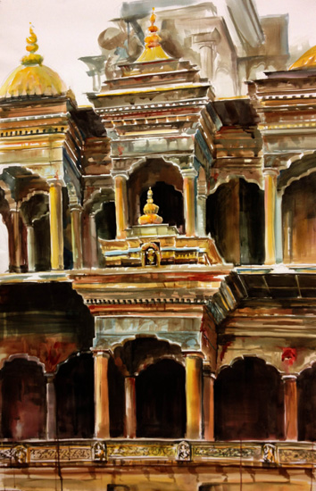 art prints - Durbar Square by Silas McDonough