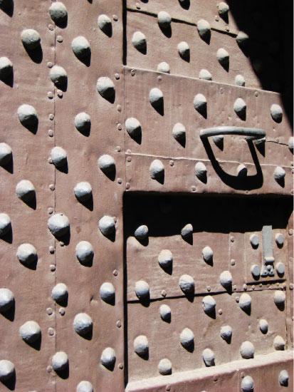 art prints - Door of dots, Italy by Laura Malkasian Huggins