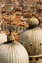 Domes of Venice by Laura Malkasian Huggins