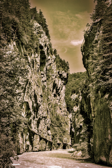 art prints - Into the Aare Gorge by Peter Stein
