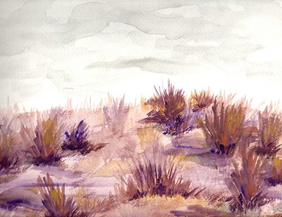 art prints - Purple Sage by Jena Burkman
