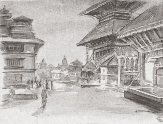 art prints - Mangal Bazaar 1 by Silas McDonough