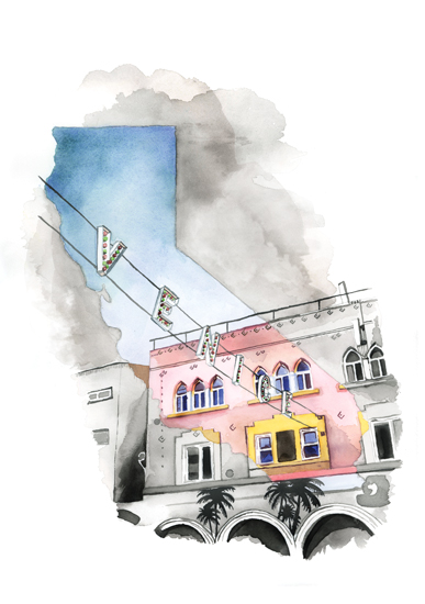 art prints - Venice, CA by Heather Perry