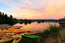 Sun River Boats by Mackenzie Lynch