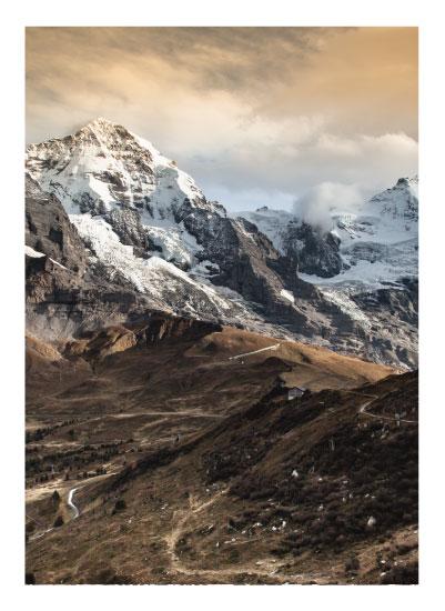 art prints - On the ridge by van tsao