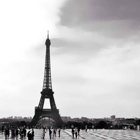 art prints - Parisian Icon by Katrina Lindhorst