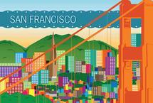 My City-San Francisco by Elizabeth Bright
