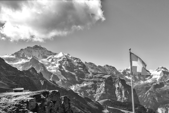 art prints - Symbol of Swiss Alps by Peter Stein