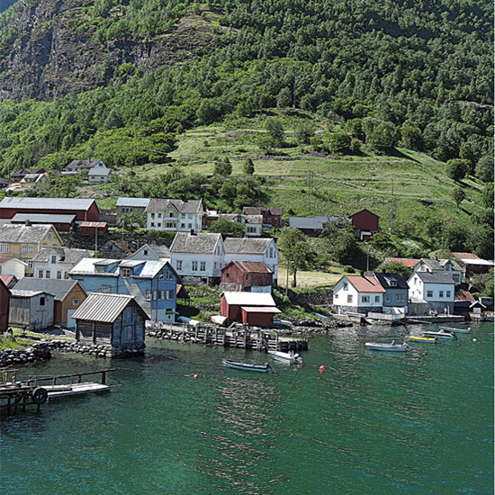 art prints - Along the Fjord by Ellen Gordon