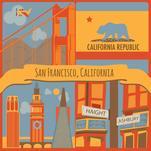 San Francisco Illustrat... by Elizabeth Bright