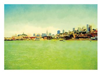 Waterfront View of the Sunny San Francisco Skyline