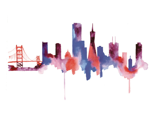 design - The City Skyline by Kelsey McNatt
